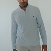 Stretch Pique Quarter Zip