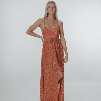 Crossback Maxi Dress