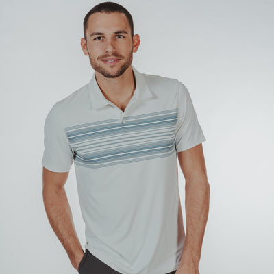 Sunset Seamed Performance Polo