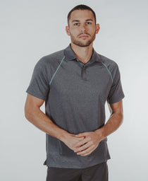 Performance Polo: Charcoal