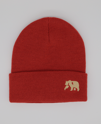 Original Knit Beanie: Rust