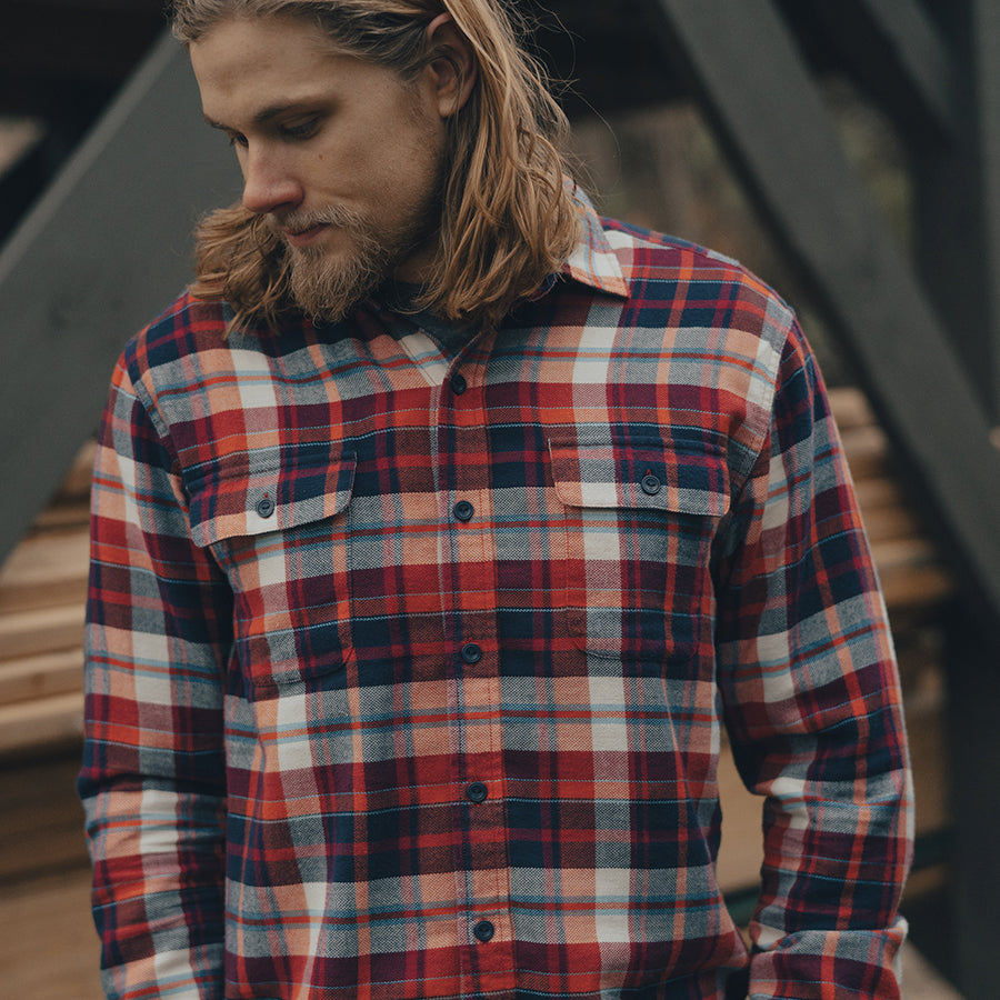Seffa Flannel Button Up Shirt