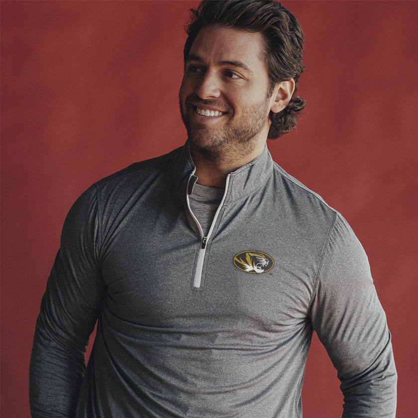 Mizzou Performance Quarter Zip Pullover
