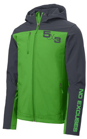 5X3 Core Soft Shell Jacket (preorder)