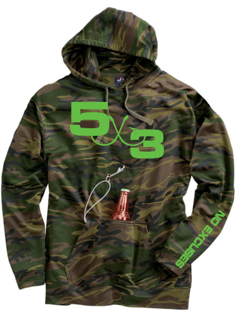 5X3 Tailgater Series Hoodie (5 Colors) Preorder