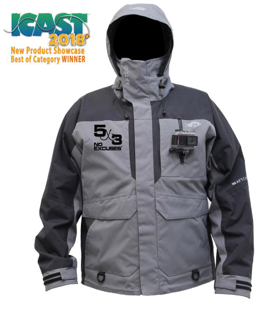 5X3 Aftco HYDRONAUT™ HEAVY-DUTY WATERPROOF JACKET