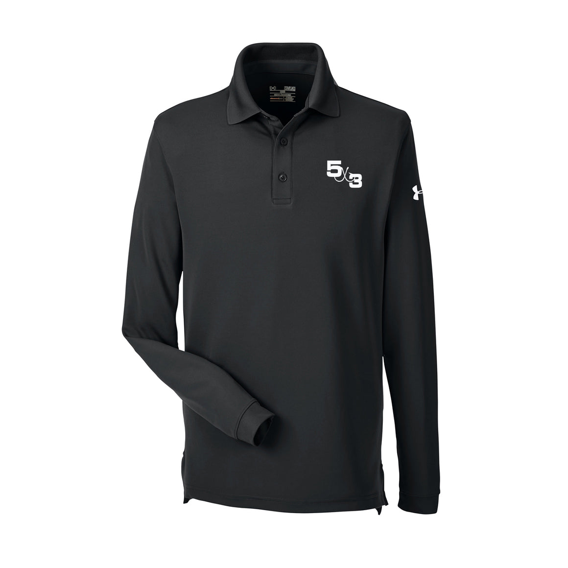 5X3 Under Armour Embroidered Long Sleeve Polo (Preorder) 3 Colors to choose from