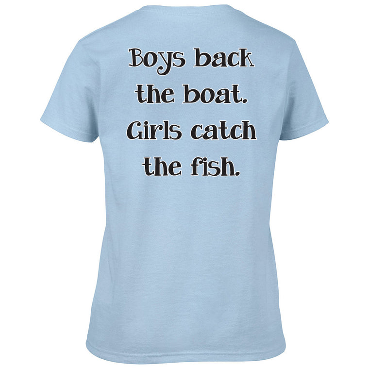 5X3 Women Comfort Color (boys back the boat)