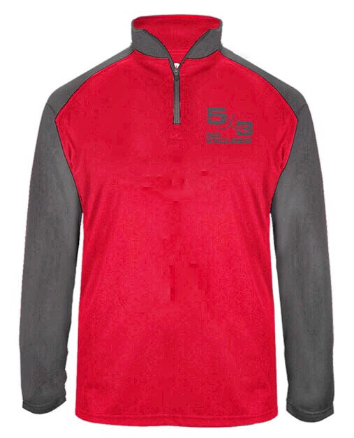 Red Shadow Quarter Zip (preorder)