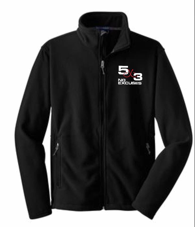Black Ultra Soft Fleece Jacket PRE-ORDER