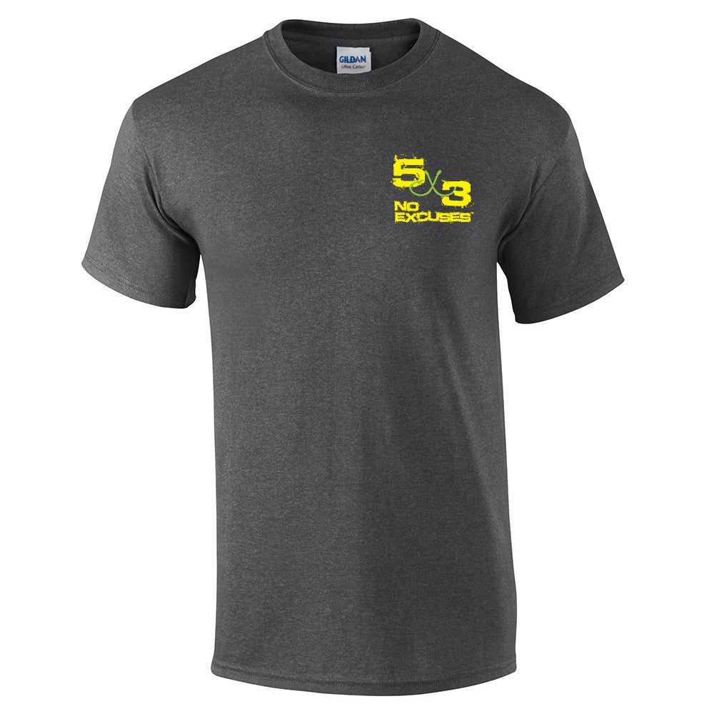 5X3 Mens Scales of Justice shirt