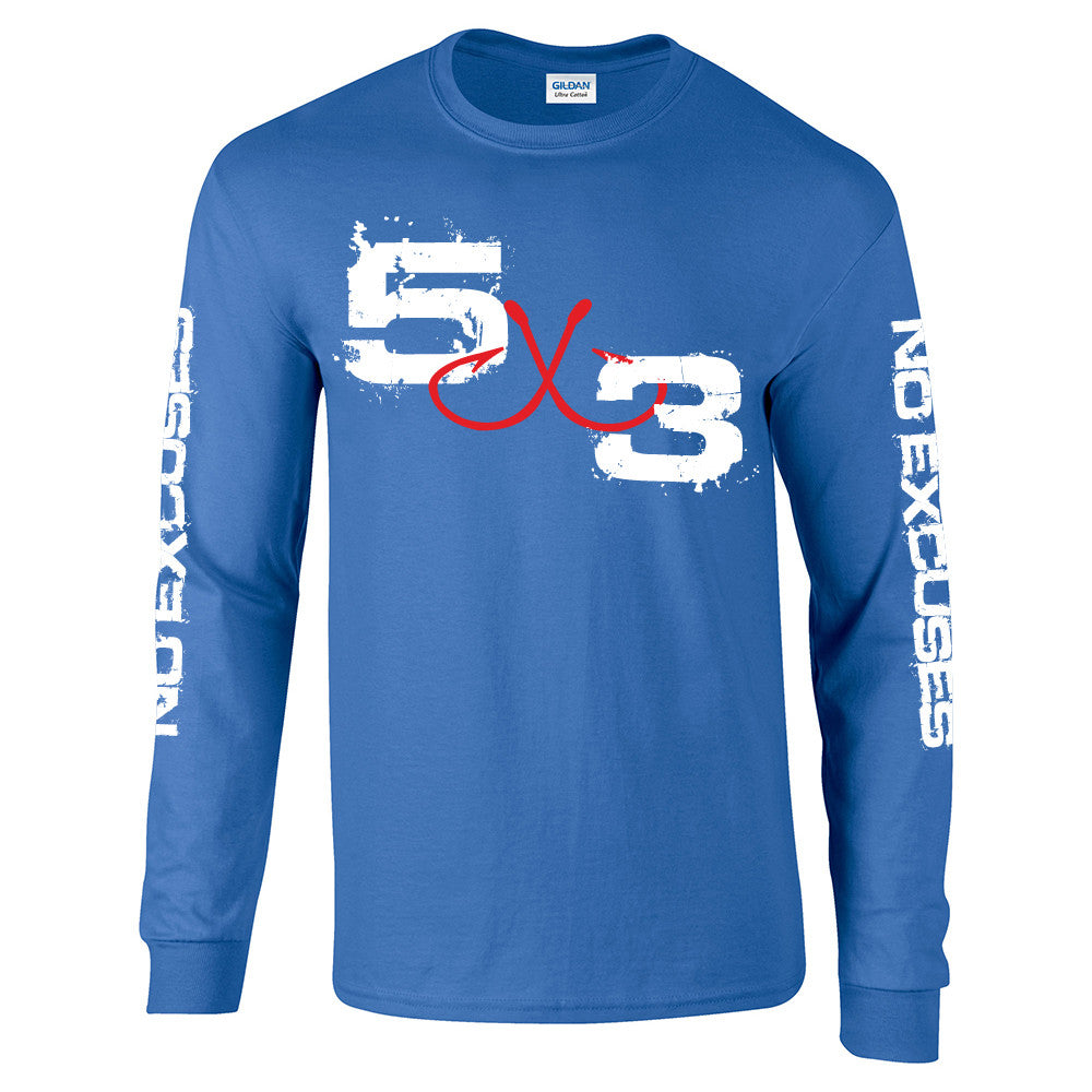 Blue Long Sleeve Sun Shirt