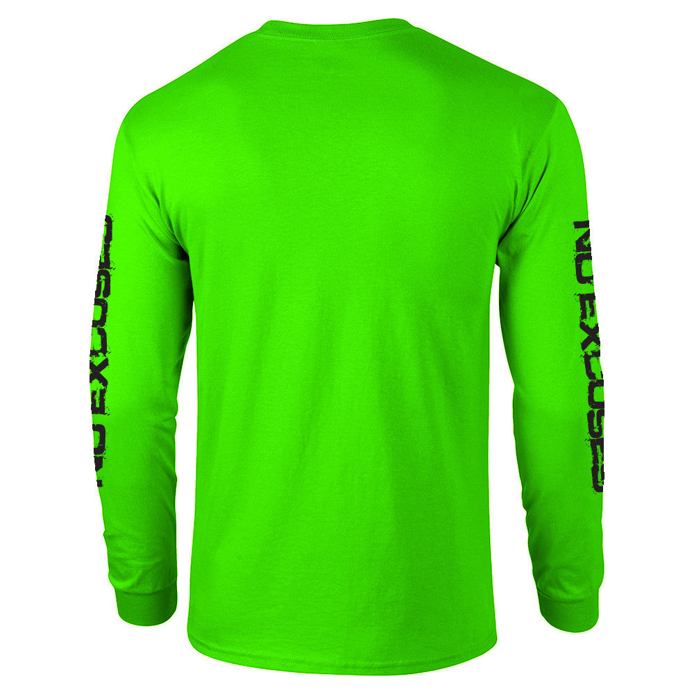 5x3 bright lime green sunshirt spf 50 long sleeve 5 x for Spf shirts for fishing
