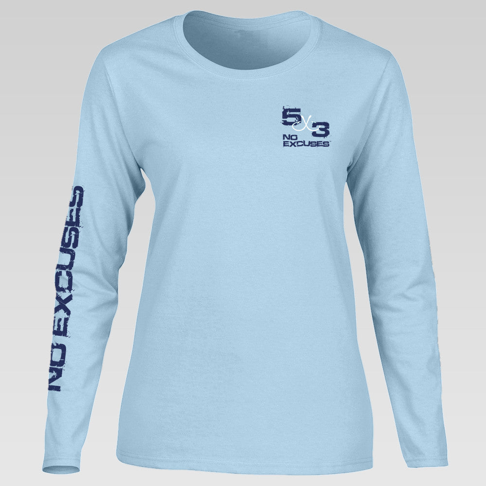 Women's Way of Life Long Sleeve Comfort Color
