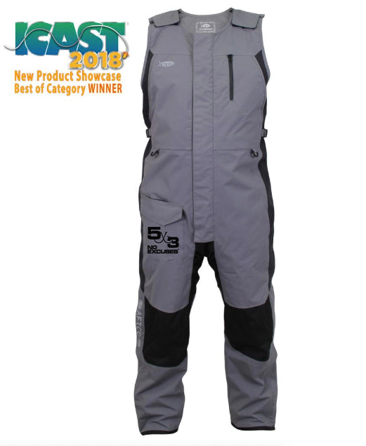5X3 Aftco HYDRONAUT™ HEAVY-DUTY WATERPROOF BIB