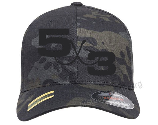 Black MultiCam Fitted Hat (preorder)