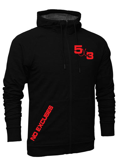 All New Moisture Wicking Zip Up Hoodie (preorder)