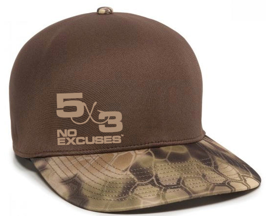 5X3 Conceal Snapback Hats (4 COLORS TO CHOOSE FROM)