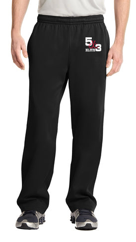 Elite 100% polyester jogging pants (gray and black available)