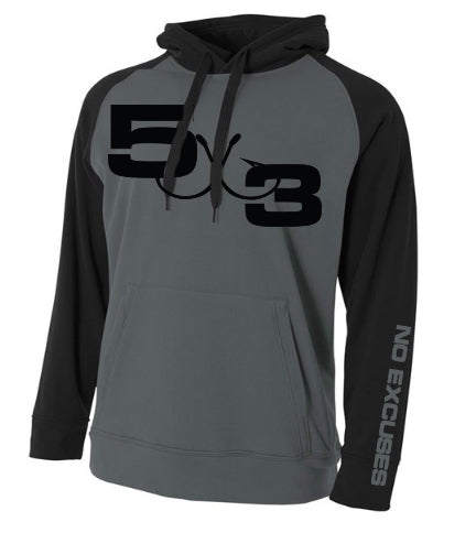 New Two Tone Moisture wicking hoodie Preorder