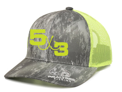 5X3 Camo Realtree Hats (velcro closure)