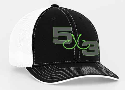 Green with envy hat! Fitted