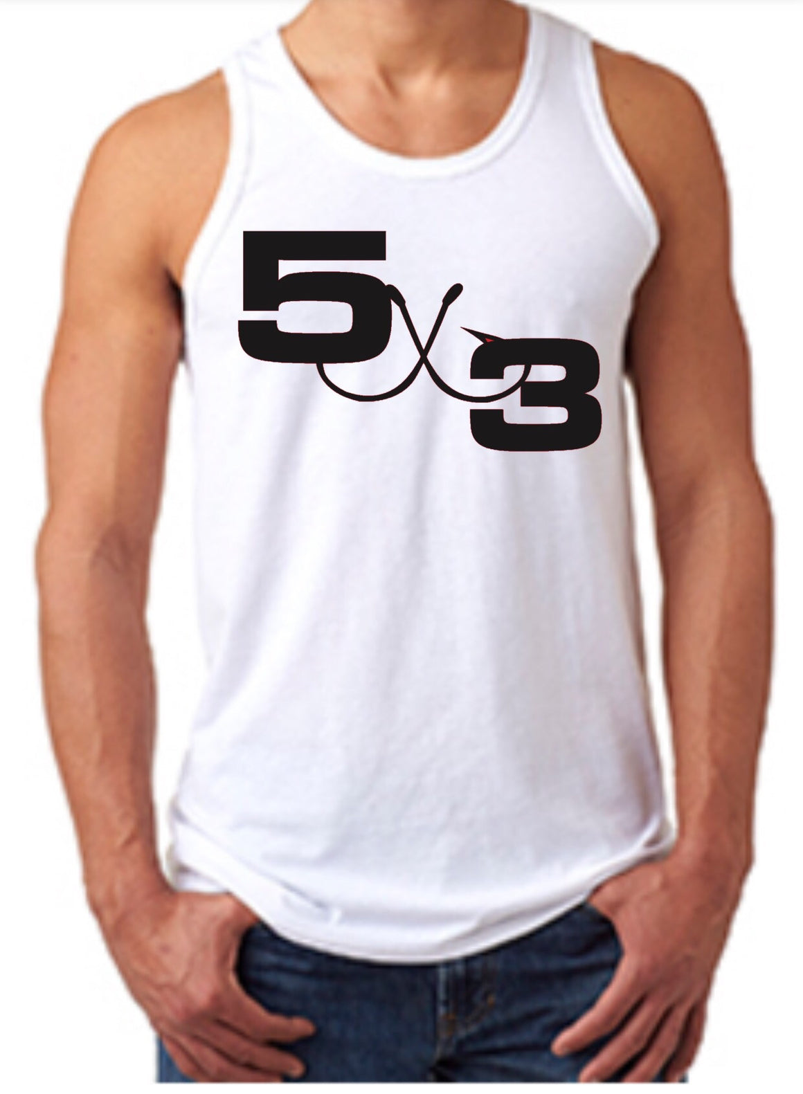Moisture Wicking Performance based 5X3 Tank Top