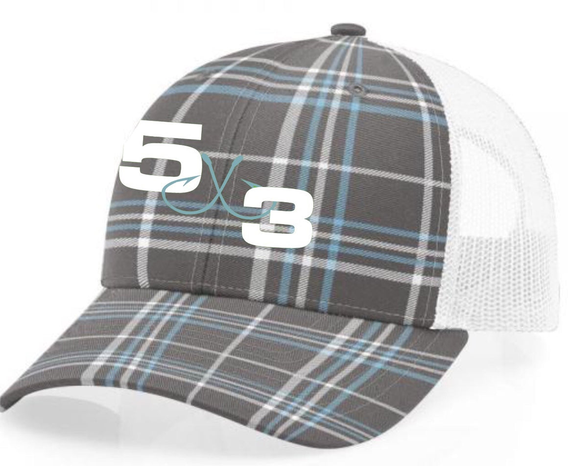5X3 Limited Edition Snapback Plaid Hat