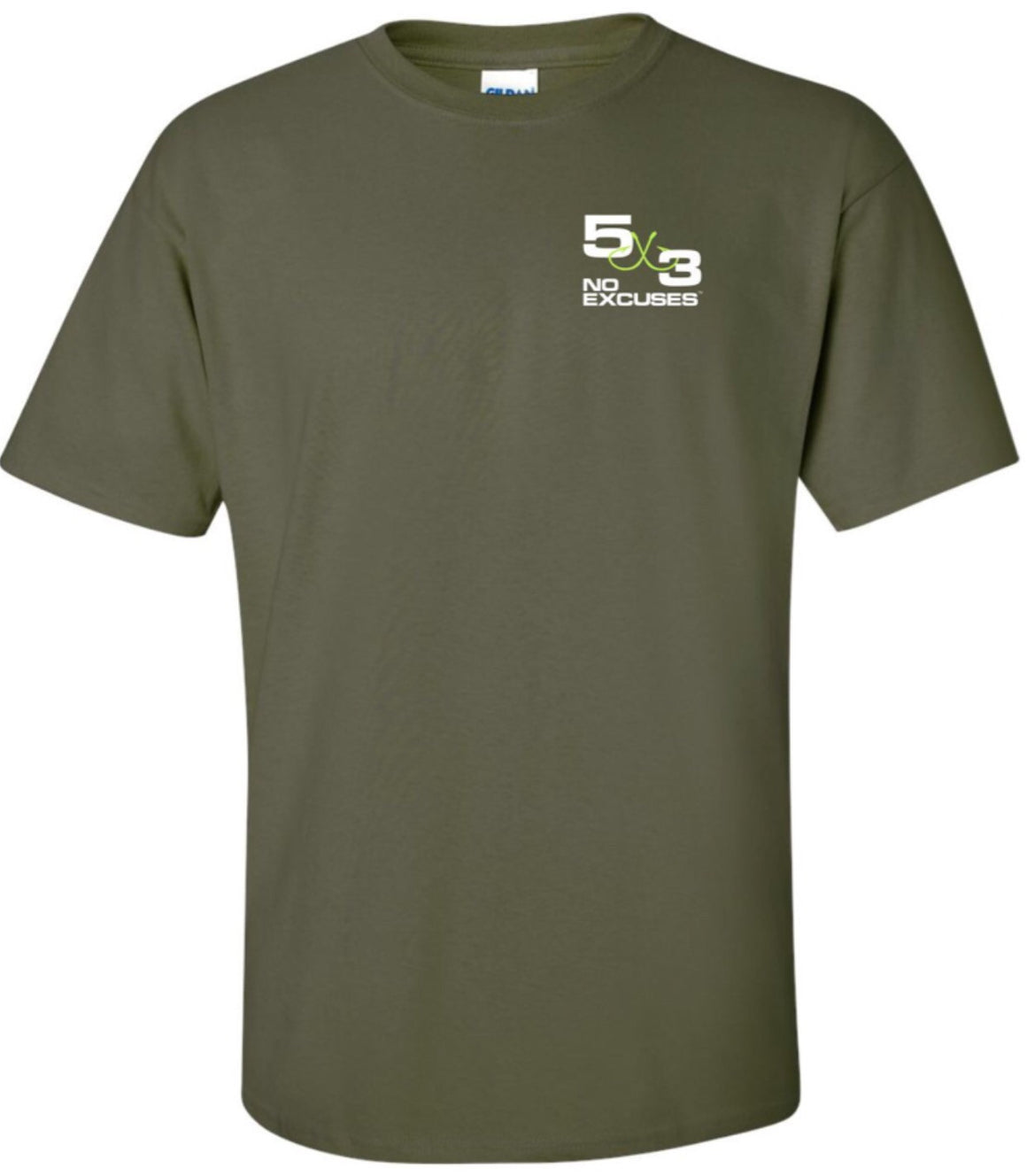 Biggest five cotton t-shirt OD Green (preorder)