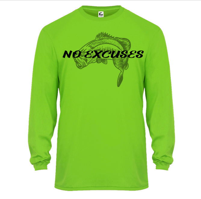 No Excuses Large Mouth Sun Shirt! (3 Day presell)