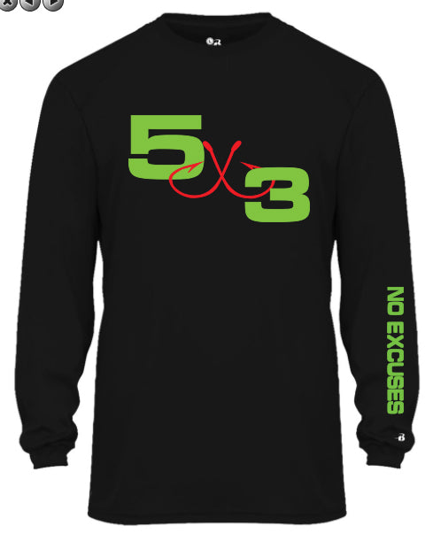 The Big Sexy Long Sleeve Moisture Wicking SPF50 Shirt. (preorder)