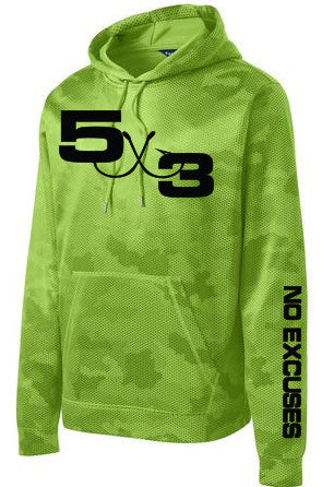 Moisture Wicking Camo Hex Hoodie (Preorder)