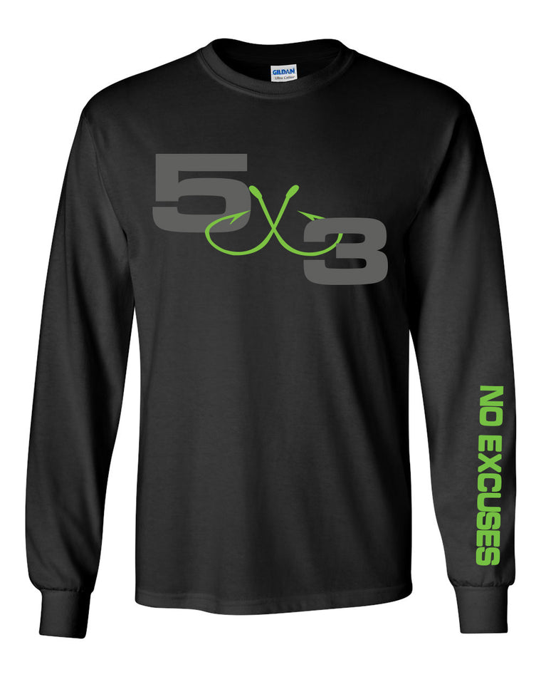 Ol' Nasty Neon Green Long Sleeve T-shirt (preorder)