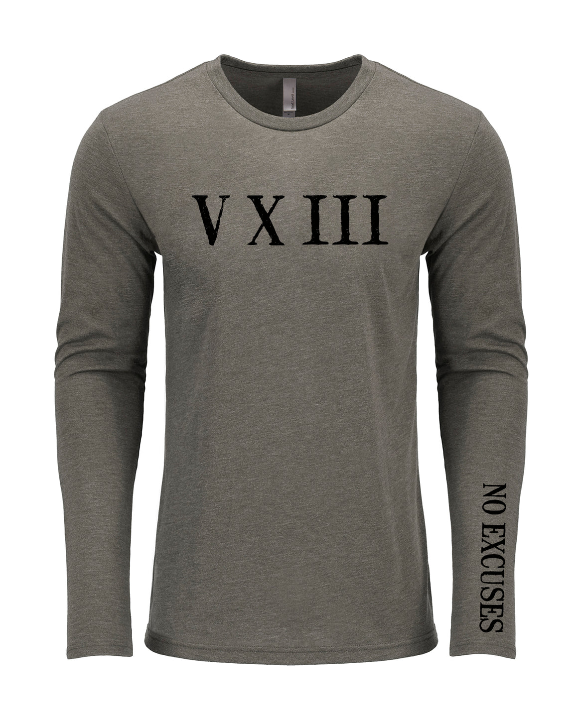 Roman Numeral Long Sleeve Shirt (preorder)