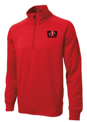Staff 1/4 Zip Fleece Pullover (4 colors available)