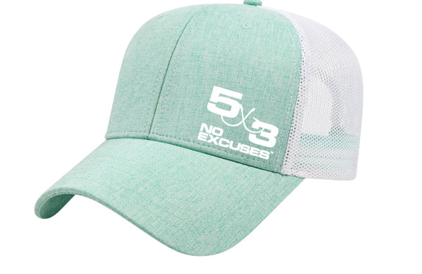 Ocean Blue and Green Adjustable Hats (3 day presell)