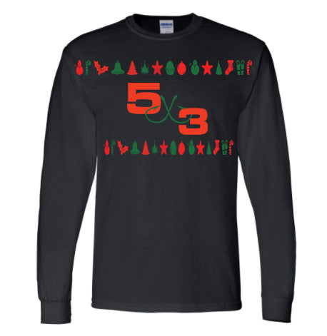 5X3 Ugly Christmas T-Shirt