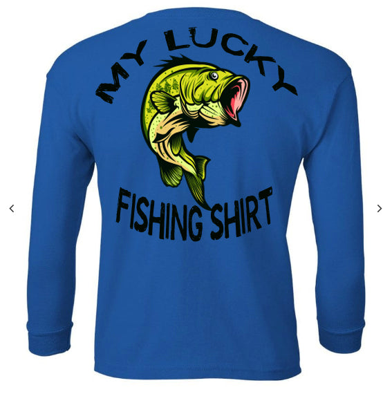 5X3 Youth Lucky Fishing Shirt (Toddler and Youth) Christmas Special