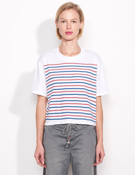 Sundry Stripes Boxy Tee