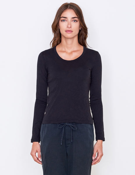 Sundry Fitted Long Sleeve