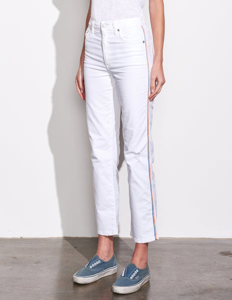 Sundry High Rise Relaxed Straight Leg Jeans