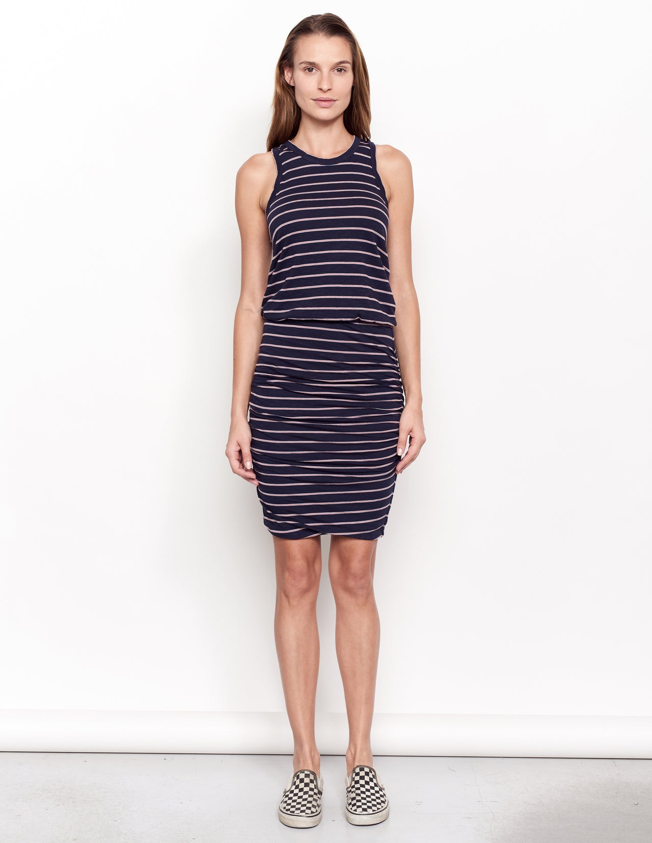 ee9e4b21312fb Sundry Stripes Sleeveless Dress