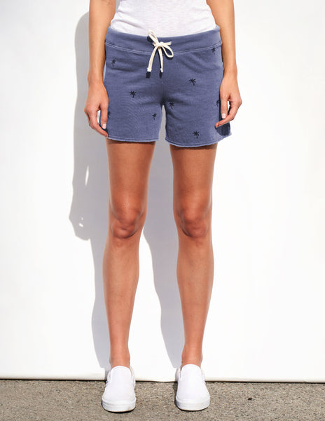 Sundry Palm Trees Cut Off Shorts