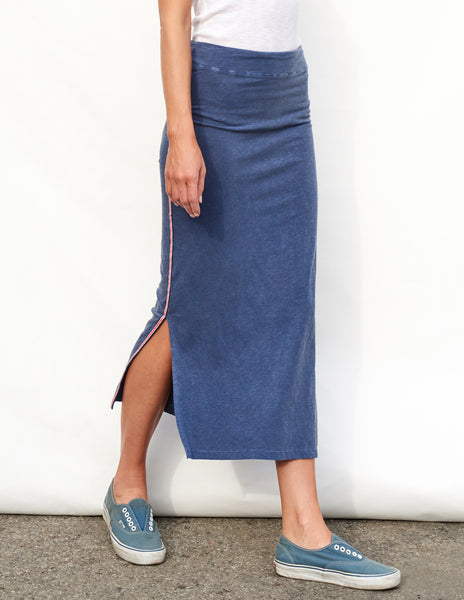 Sundry Trim Midi Skirt