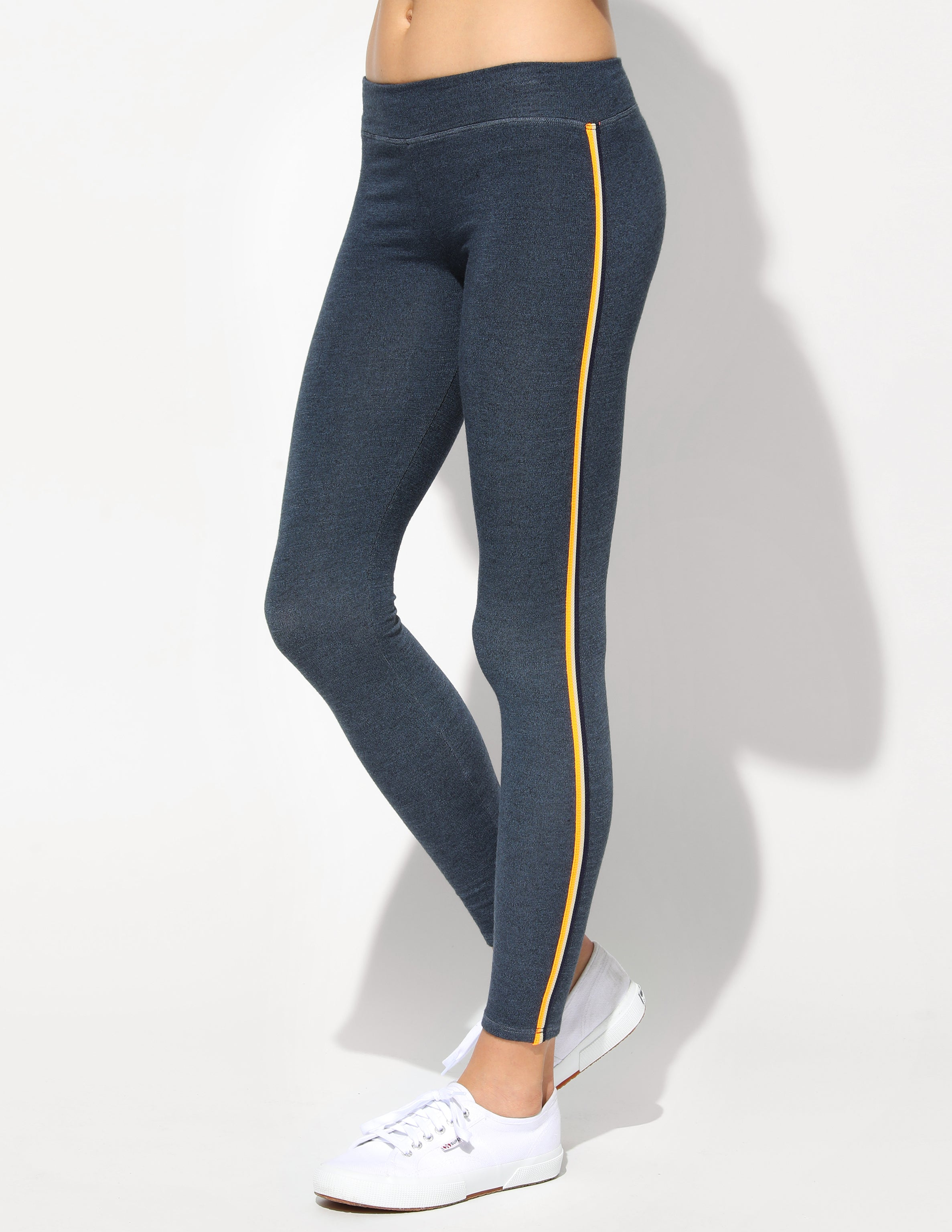 Sundry Yoga Pant With Side Trim
