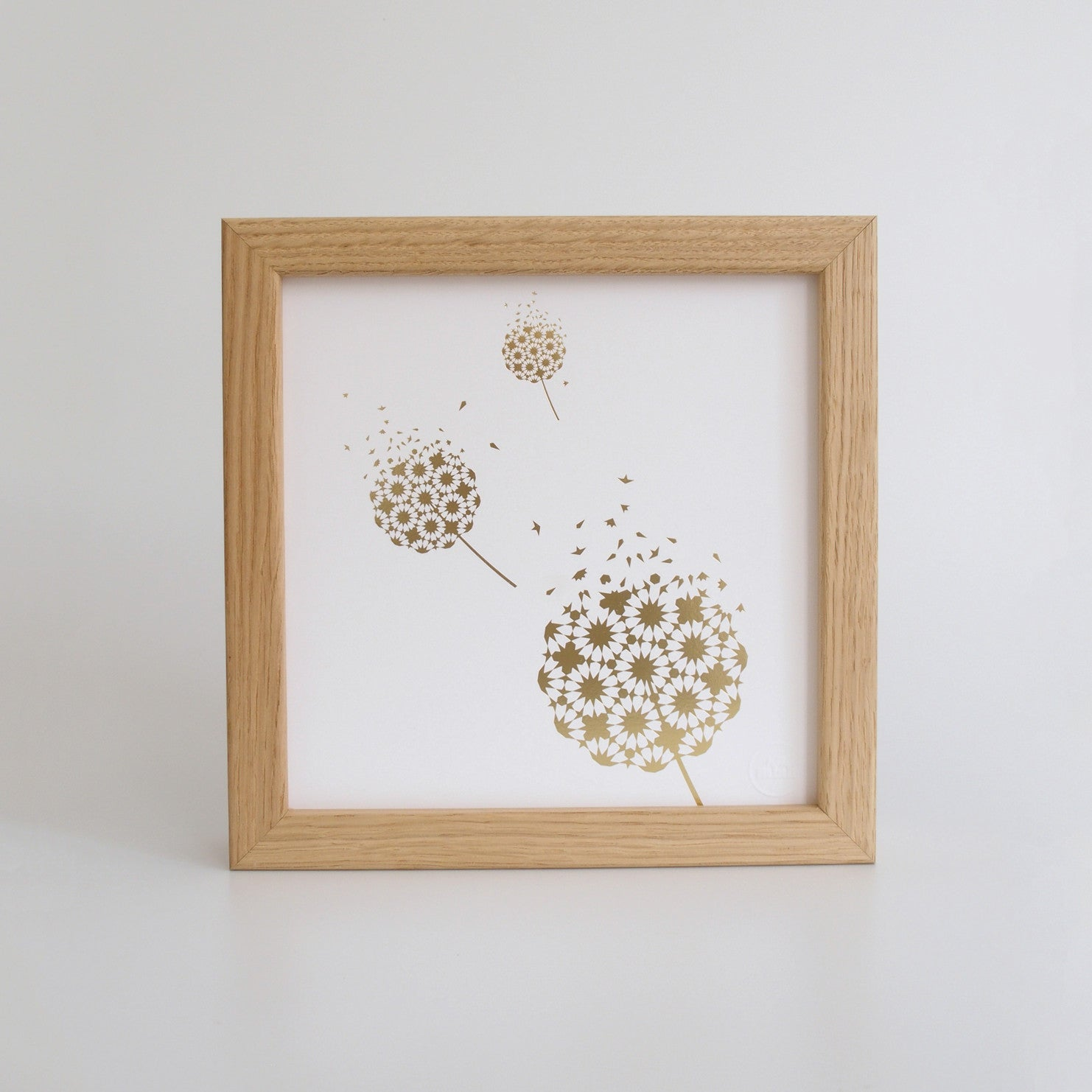 Fleeting - Gold Foil Print