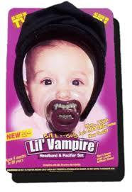 Lil'Vampire Headband and Pacifier