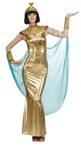 Gold Goddess Cleopatra Costume