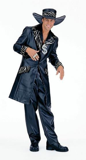 Mac Daddy Costume (leather look)