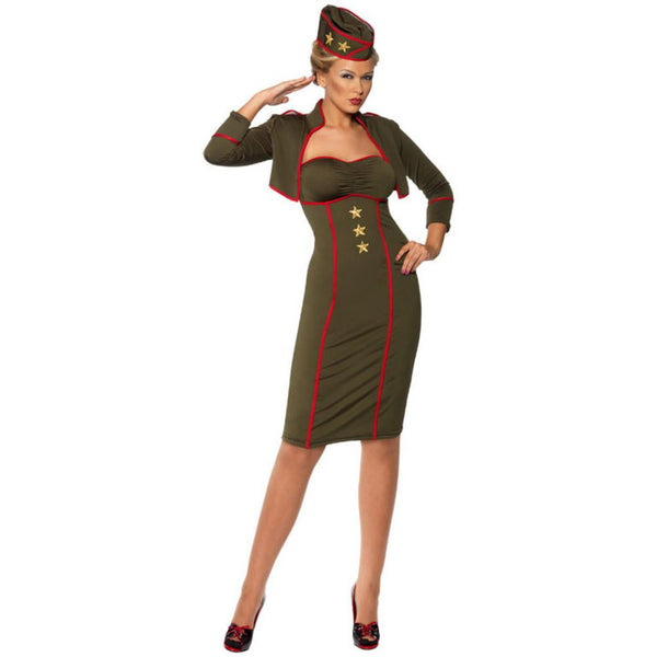 Army Girl Pin Up Costume